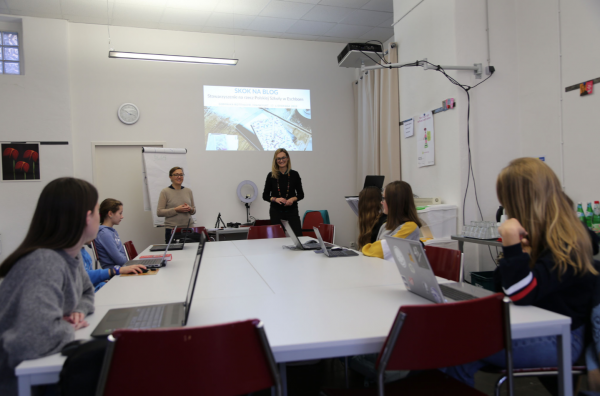 Blogger-Workshop für Schüler Frankfurt